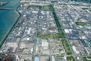 沖縄の航空写真の写真素材 [FYI03435956]
