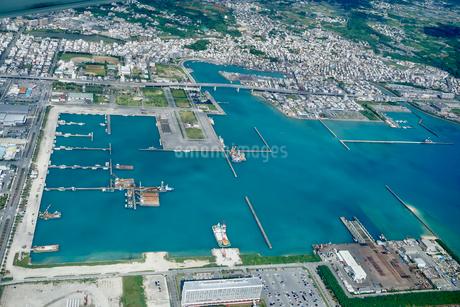 沖縄の航空写真の写真素材 [FYI03435959]