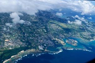 沖縄の航空写真の写真素材 [FYI03435967]