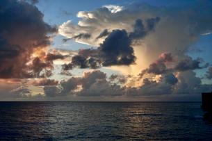 珍しい雲の写真素材 [FYI03436005]