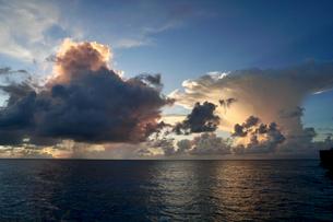 珍しい雲の写真素材 [FYI03436006]
