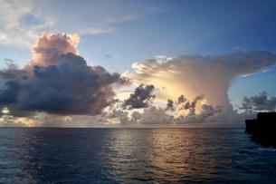 珍しい雲の写真素材 [FYI03436008]
