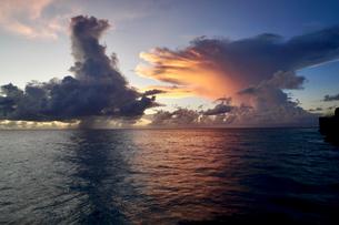 珍しい雲の写真素材 [FYI03436014]