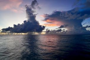 珍しい雲の写真素材 [FYI03436015]