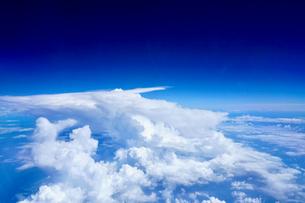 上空からの雲の写真素材 [FYI03436040]