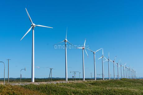 風力発電の写真素材 [FYI03436184]