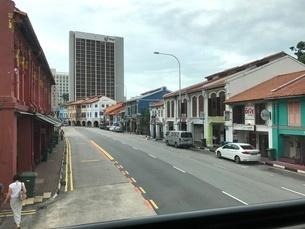道 道路 海外 シンガポールの写真素材 [FYI03436576]
