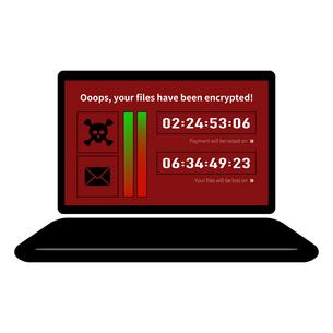 脆弱性コンピューターウイルス感染スパム、アイコンベクターイラスト素材のイラスト素材 [FYI03436664]