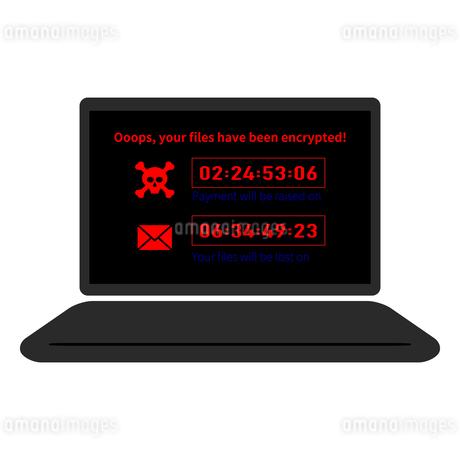 脆弱性コンピューターウイルス感染スパム、アイコンベクターイラスト素材のイラスト素材 [FYI03436665]
