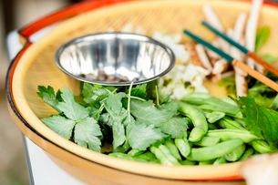 料理に使う新鮮な野菜の写真素材 [FYI03436884]