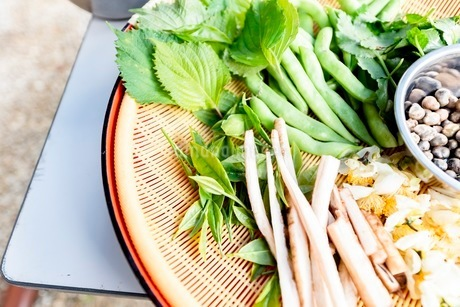 料理に使う新鮮な野菜の写真素材 [FYI03436889]