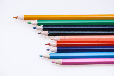 色鉛筆の写真素材 [FYI03437478]