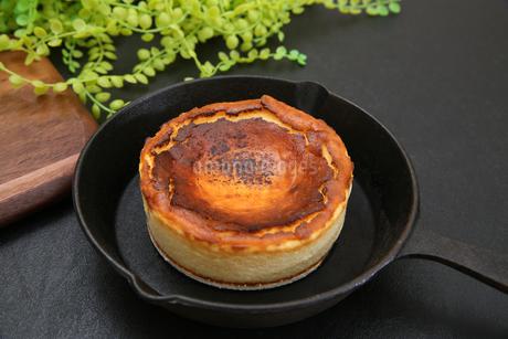 バスクチーズケーキの写真素材 [FYI03437582]