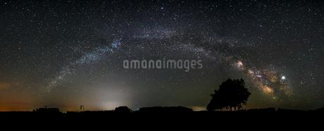 天の川の写真素材 [FYI03437820]