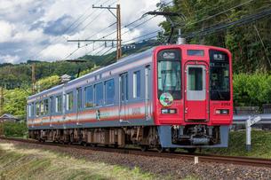 南海電車、高野線の写真素材 [FYI03438098]