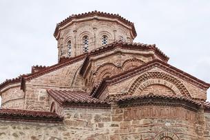 メガロ・メテオロン修道院ドームの写真素材 [FYI03438106]