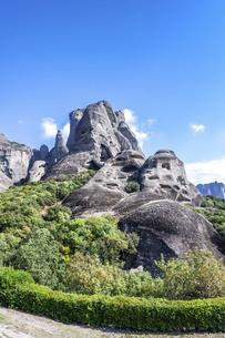メテオラの奇岩の写真素材 [FYI03438112]