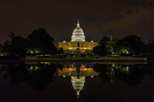 アメリカ国会議事堂の写真素材 [FYI03438153]