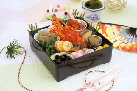 おせち料理の写真素材 [FYI03438211]