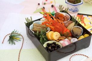 おせち料理の写真素材 [FYI03438212]