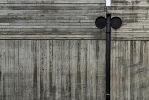 大きな木製の壁の写真素材 [FYI03438435]