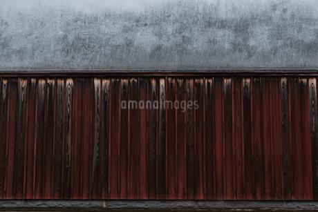 古びた壁の写真素材 [FYI03438452]
