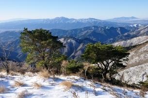 冬の展望 箱根山の写真素材 [FYI03438664]