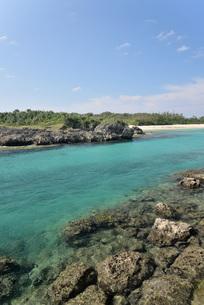 宮古島の風景の写真素材 [FYI03438978]