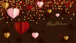 バレンタイン ハート 背景のイラスト素材 [FYI03439011]