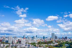 仙台城跡より望む仙台市街の写真素材 [FYI03439118]