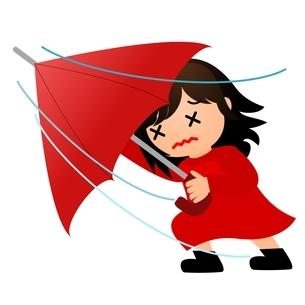 暴風雨のイラスト素材 [FYI03439290]