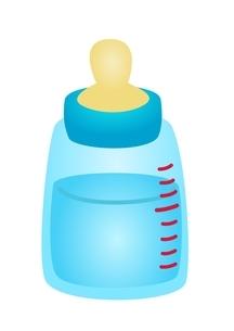 哺乳瓶 水のイラスト素材 [FYI03439310]