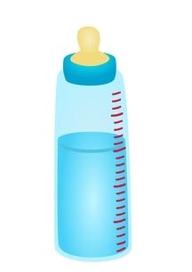 哺乳瓶 水のイラスト素材 [FYI03439313]