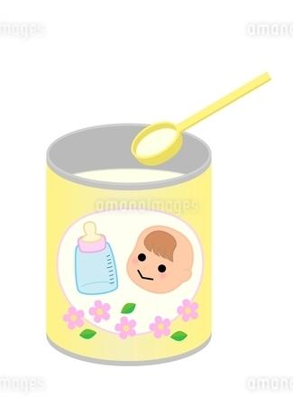 粉ミルクのイラスト素材 [FYI03439321]