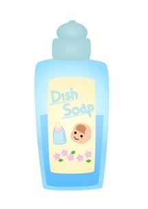 赤ちゃん用洗剤のイラスト素材 [FYI03439330]