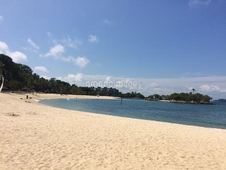 シンガポールの美しい浜辺の写真素材 [FYI03439360]