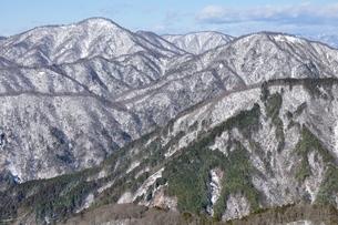 雪の西丹沢展望の写真素材 [FYI03439545]