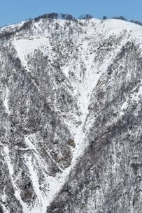 白き不動ノ峰の写真素材 [FYI03439572]