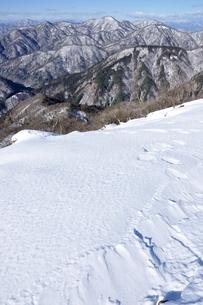 丹沢雪景色の写真素材 [FYI03439582]