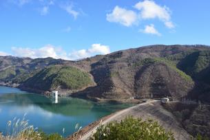 味噌川ダムの写真素材 [FYI03439867]