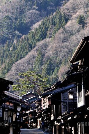 奈良井宿の写真素材 [FYI03439870]