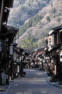 奈良井宿の写真素材 [FYI03439871]
