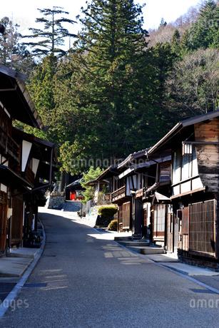 奈良井宿町並の写真素材 [FYI03439872]
