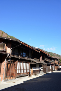 奈良井宿の写真素材 [FYI03439873]