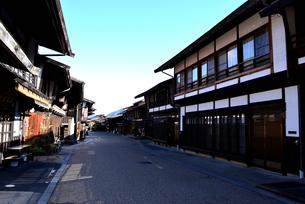 奈良井宿の写真素材 [FYI03439874]