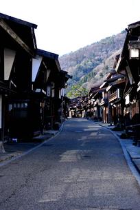 奈良井宿の写真素材 [FYI03439875]