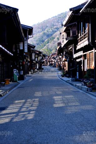 奈良井宿の写真素材 [FYI03439877]