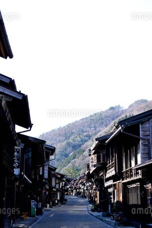 奈良井宿の写真素材 [FYI03439878]