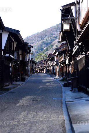 奈良井宿の写真素材 [FYI03439879]