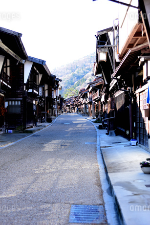 奈良井宿の写真素材 [FYI03439880]